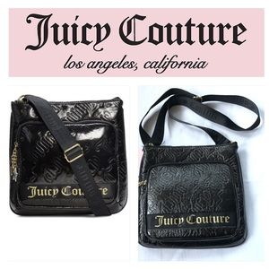 Juicy Couture Black Deluxe Large Crossbody